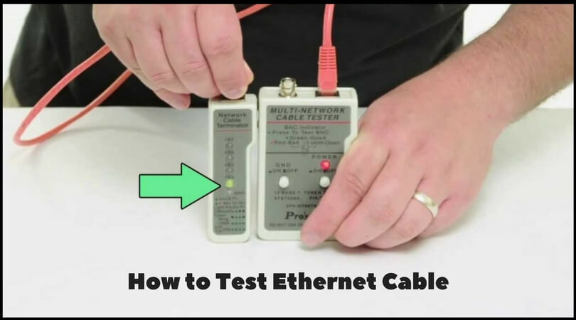 How to Test Ethernet Cable
