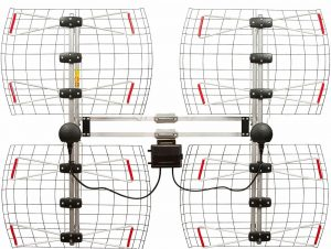 Antennas Direct 8 Element Bowtie Indoor Outdoor Antenna
