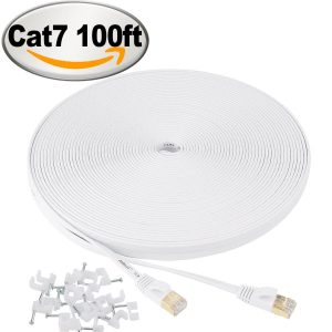 Jadaol Cat-7 Ethernet Cable for TV