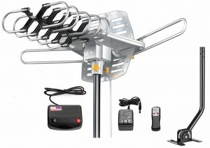 Vilso Outdoor Amplified HDTV Antenna for Wooded Areas